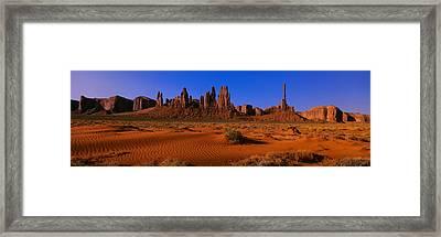 Monument Valley National Park, Arizona Framed Print