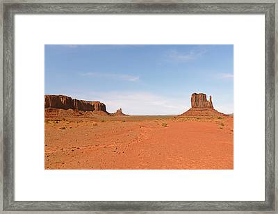 Monument Valley Navajo Tribal Park Framed Print by Christine Till