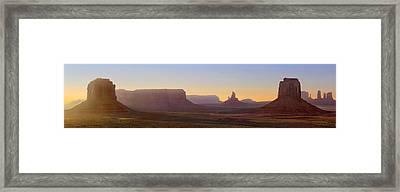 Monument Valley Sunset 3 Framed Print by Mike McGlothlen