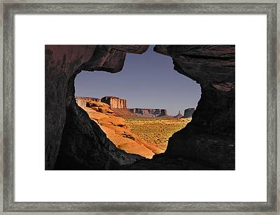 Monument Valley - The Untamed West Framed Print