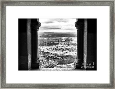 Monument View Framed Print by John Rizzuto