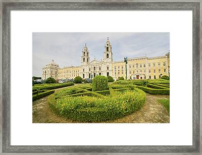 Monumental Baroque Royal Palace Framed Print