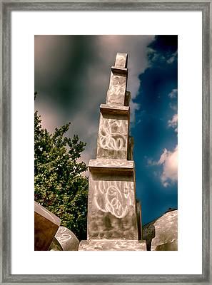 Monumental Pritchard Park Framed Print