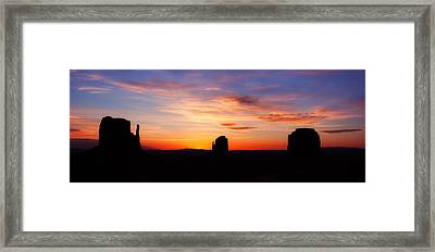 Monumental Sunrise Framed Print by Darren  White