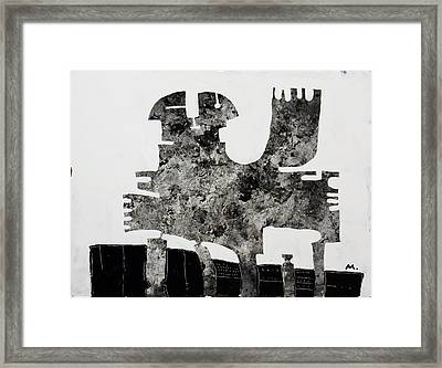 Monumentum No 1 Framed Print by Mark M  Mellon