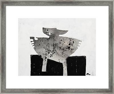 Monumentum No 3 Framed Print by Mark M  Mellon