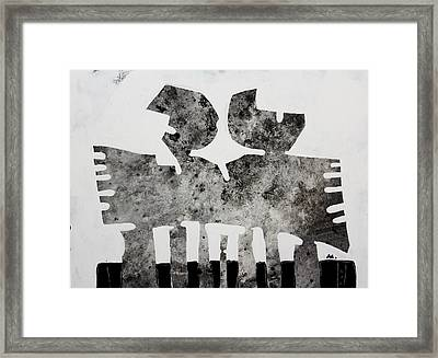 Monumentum No 5 Framed Print by Mark M  Mellon