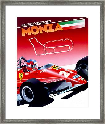 Monza Framed Print by Gavin Macloud