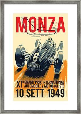Monza Grand Prix Framed Print