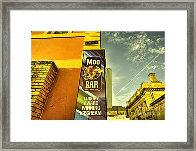 Moo Bar  Framed Print