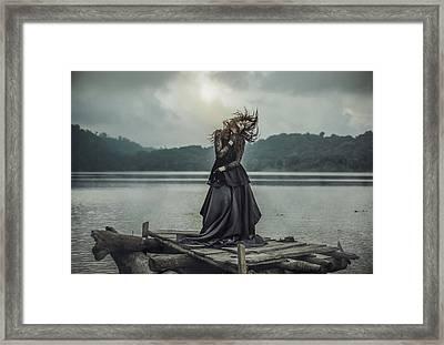Mood For Dance Framed Print