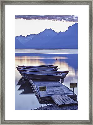 Mood Indigo Framed Print by Jon Glaser
