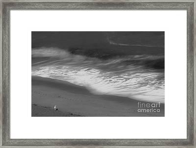 Mood Of The Beach Framed Print