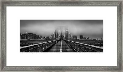 November Rain Framed Print by Az Jackson