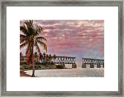 Mood Of The Keys Framed Print by Deborah Benoit