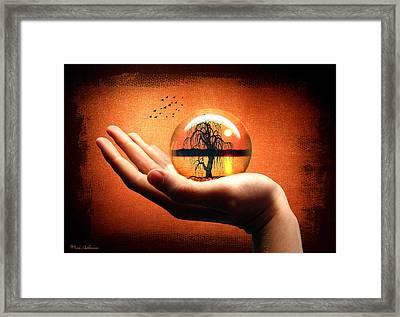 Mood Pic Framed Print by Mark Ashkenazi