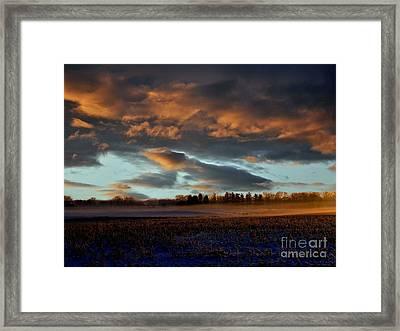 Moodiness Framed Print