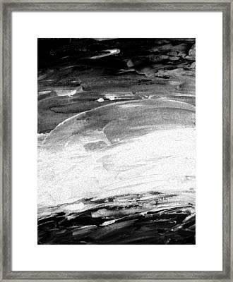 Moods Of Nature 2 Framed Print by Lenore Senior