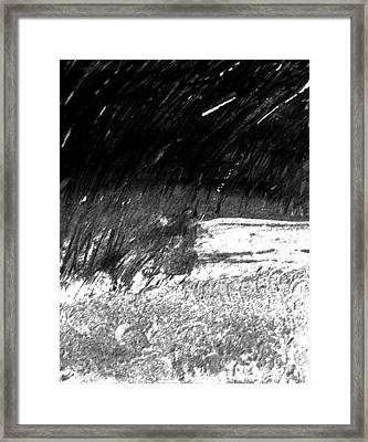 Moods Of Nature 3 Framed Print by Lenore Senior