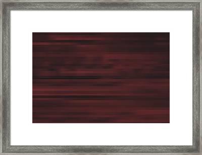 Moody Framed Print