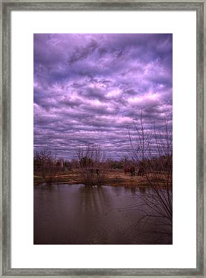 Moody Day Framed Print by Kelly Kitchens