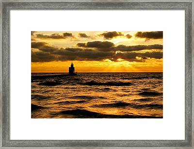 Moody Morning Framed Print by Bill Pevlor