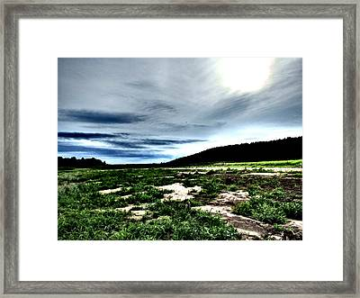 Moody Mother  Framed Print