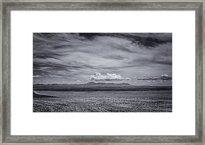 Moody Mountains Framed Print by Thomas Young