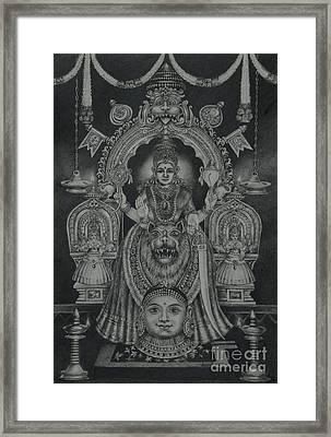 Mookambika Devi Framed Print
