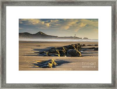 Moolack And Yaquina Framed Print by Mark Kiver
