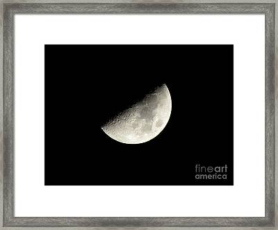 Moon 1 Framed Print