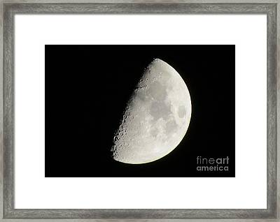 Moon 4 Framed Print
