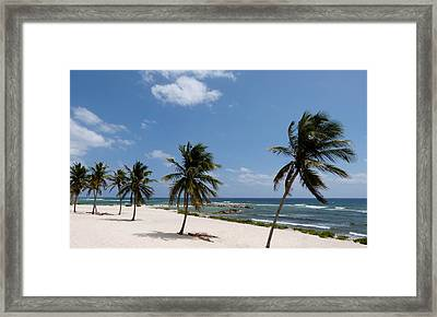 Framed Print featuring the photograph Moon Bay by Amar Sheow