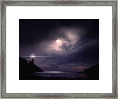 Moon Bay Framed Print by Robert Foster