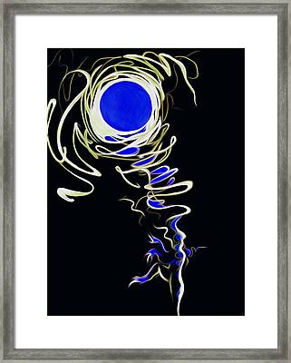 Moon Dance Framed Print by Andrea Carroll