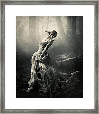 Moon Dance Framed Print by Cindy Grundsten