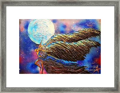 Moon Dance Framed Print by James Pizzimenti