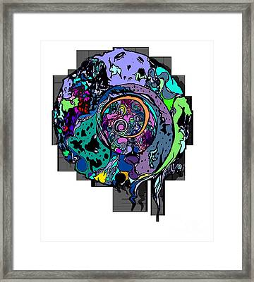 Moon Disguise  Framed Print by Carly Anderson