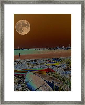 Moon Dreams Framed Print by Robert McCubbin