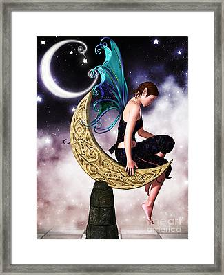 Moon Fairy Framed Print by Alexander Butler