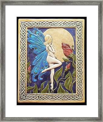 Moon Fairy Framed Print by Shannon Gresham