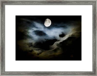 Moon Glow Framed Print
