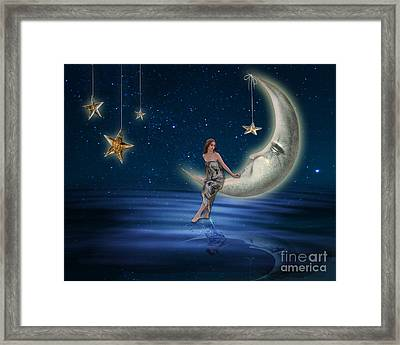 Moon Goddess Framed Print by Juli Scalzi