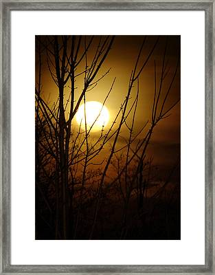 Moon I Framed Print