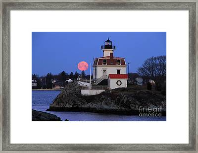 Moon-light Framed Print by Butch Lombardi
