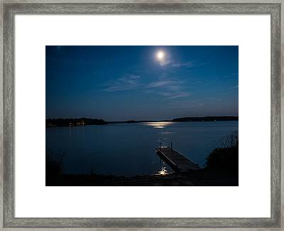 Moon Light Reflections Framed Print by Paul Freidlund