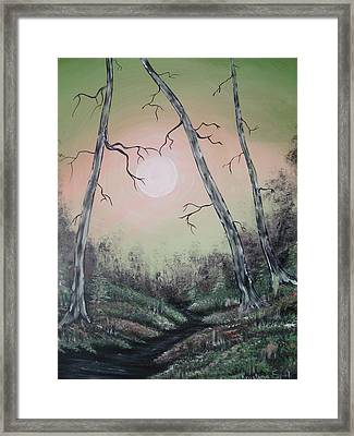 Moon Magic Framed Print
