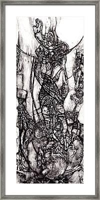 Moon Mood Framed Print by David Walker