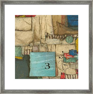 Moon Number 3 Framed Print by Laura  Lein-Svencner