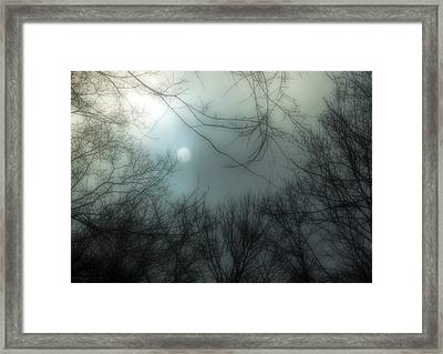 Moon Over Billy Goat Trail Framed Print by Francis Sullivan